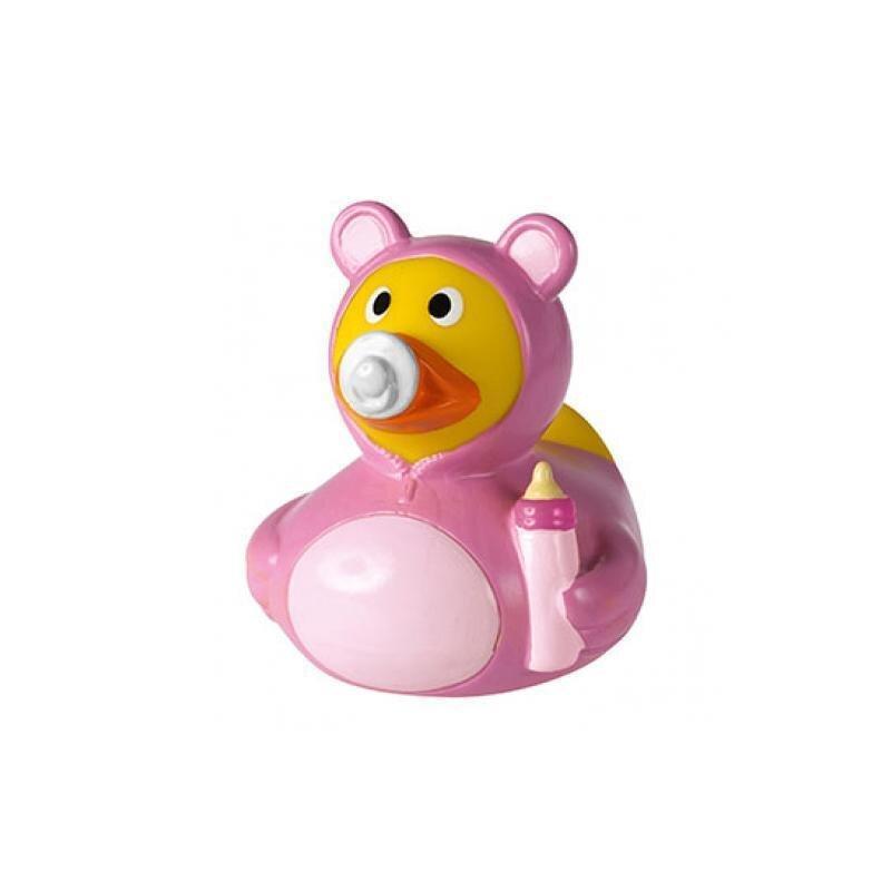 Quietsche-Ente Baby Mädchen Rosa