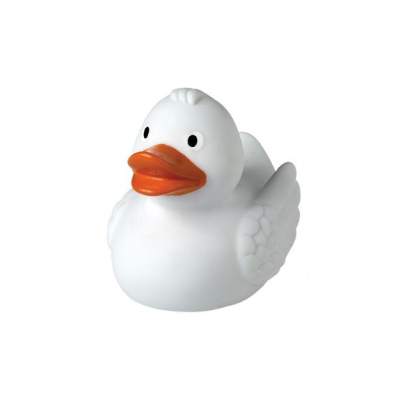 Quietsche-Ente weiß