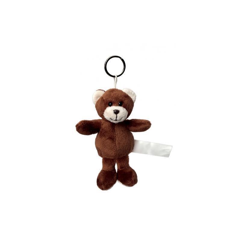 Plüsch Schlüsselanhänger Bär Braun
