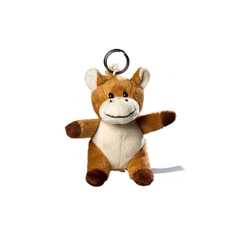 Plüsch Schlüsselanhänger Pferd
