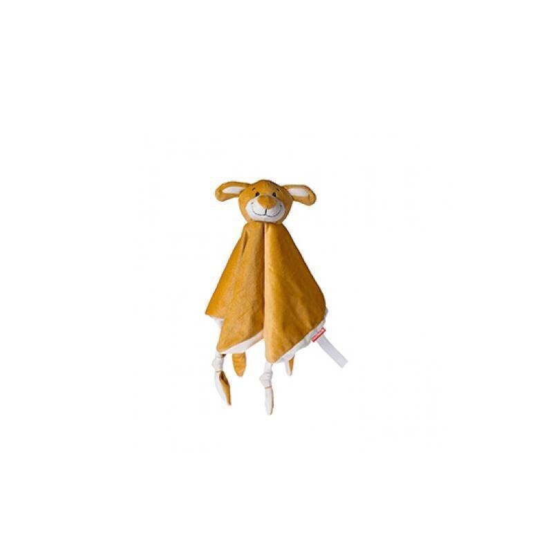 OEKO-TEX Schmusetuch Hund aus superweichem Plüsch