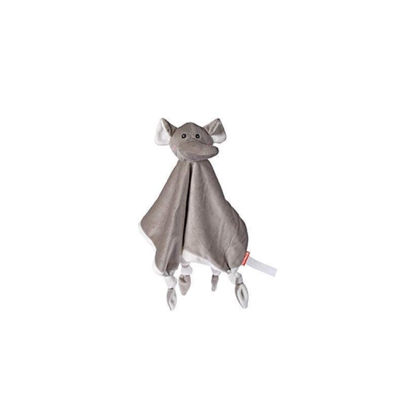 OEKO-TEX® Schmusetuch Elefant aus superweichem Plüsch