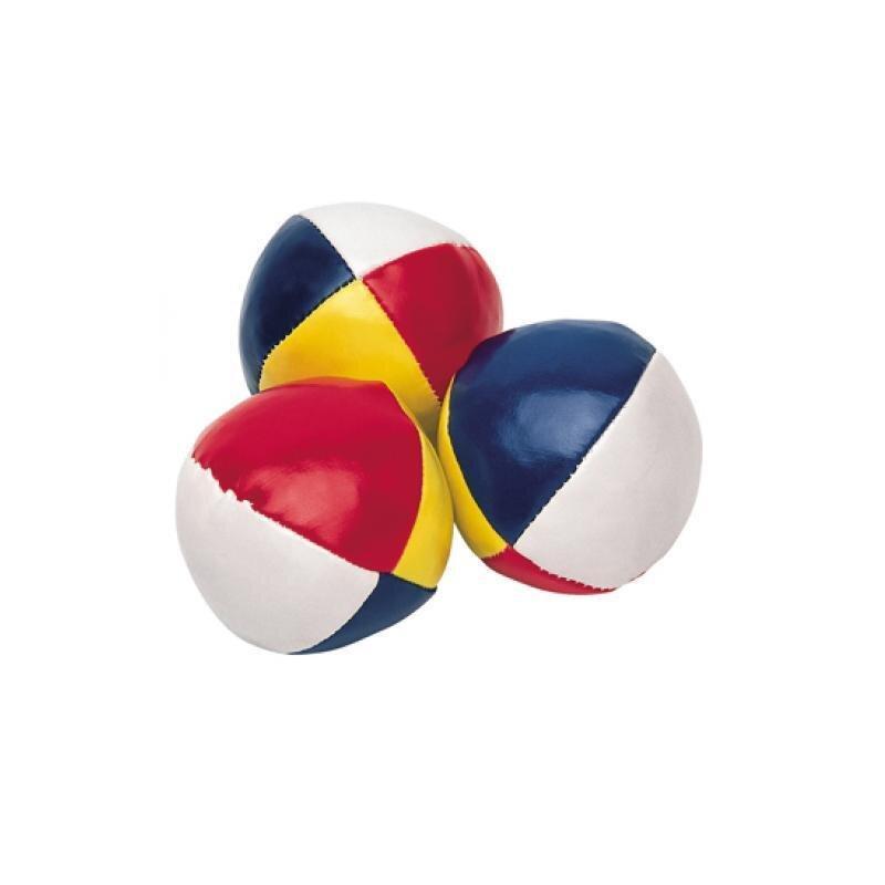 Jonglierball mit 4 Segmenten