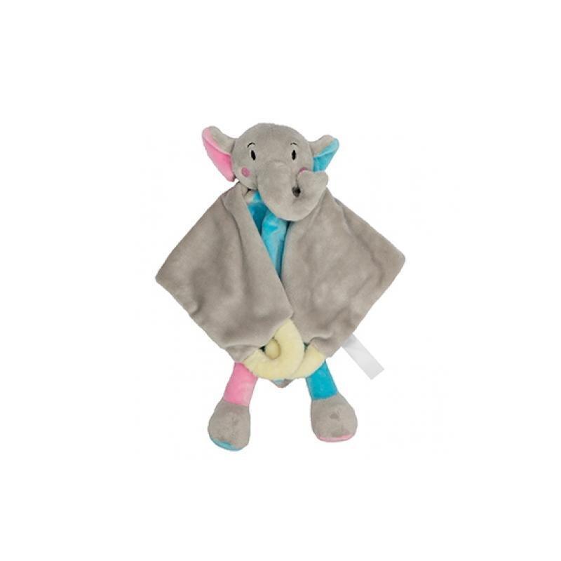 Schmusetuch Elefant aus superweichem Plüsch