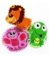 3 Kühlpads Löwe Frosch Schmetterling