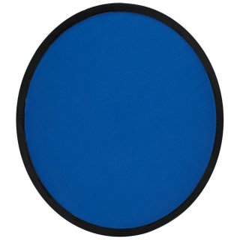Frisbee, blau, faltbar mit Etui aus Polyester
