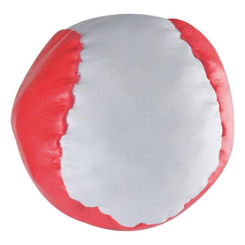 Anti-Stress-Ball Rot-weiß