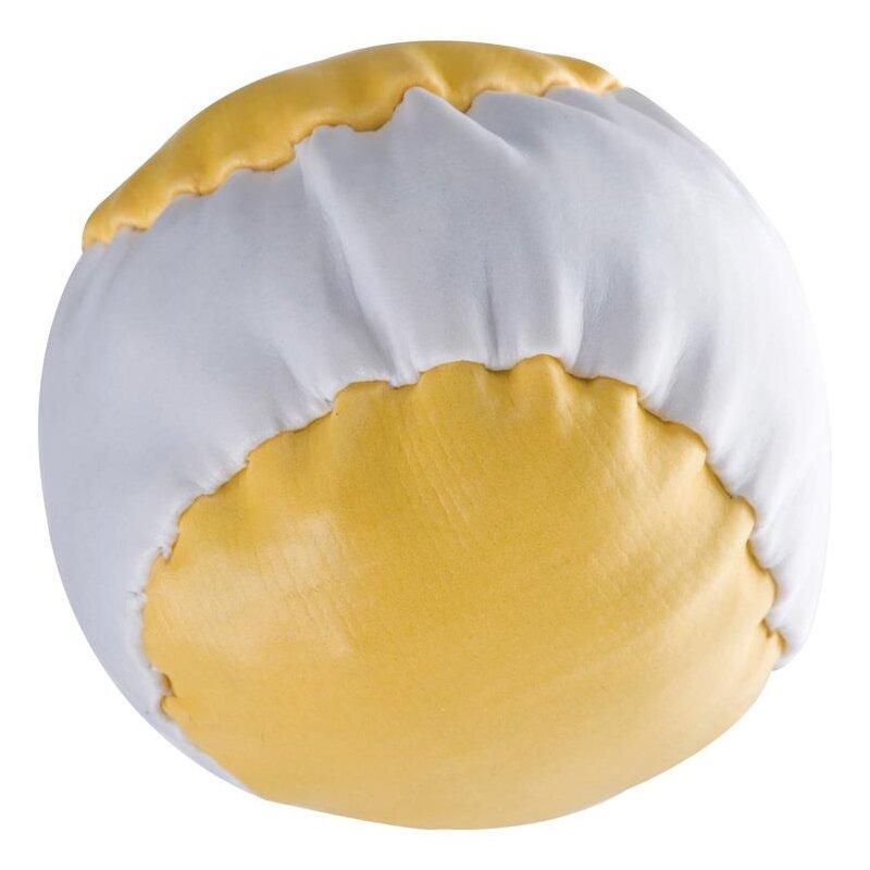 Anti-Stress-Ball Gelb-weiß