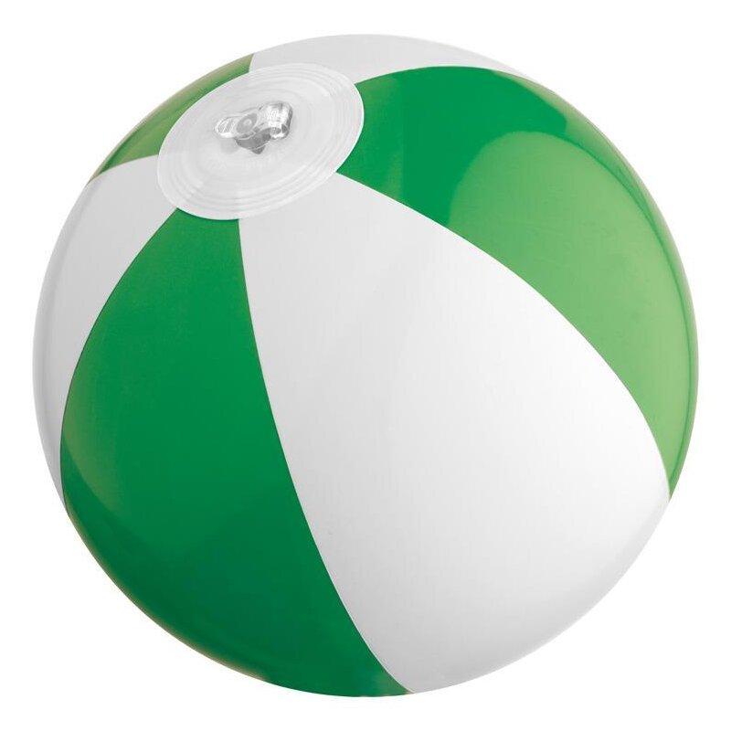 Strandball 21 cm Grün