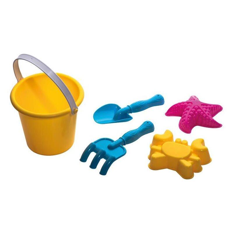 5-tlg. Strandspielzeug aus Kunststoff