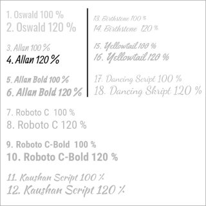 4. Allan 120 %
