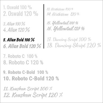 5. Allan Bold 100 %